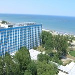 Hotel Doina - hotel view from the cable car over Mamaia