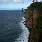 Cliffs behind the Resort
