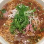Ginormous portion of Beef noodle broth