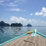 Boat to Koh Yao Yai.