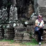 at Angkor Temple