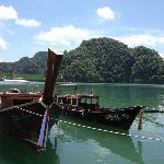 Thalen Bay Pier, Krabi.