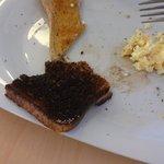 Cindered toast!