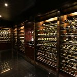 The Wine Cellar with 185 selections of wines from the best winery all over the globe