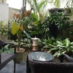 プレミアルームKAZE お庭 とても可愛らしく作られています。もう少しで完成との事