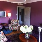 Sitting room in President Suite