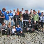 on the summit of Croagh Patrick