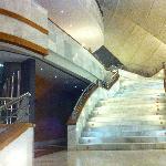 escalera planta principal, para restaurante gaudi