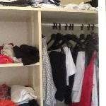 wardrobe space one in our bedroom and another like this beside the bathroom
