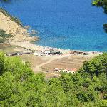 La plage de Megalo Aselinos