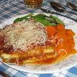 Veggie Lasagna - decadently rich!
