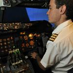 We have instructors that will guide you through the flight