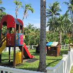 Main playground at resort