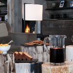 The Lodge Verbier, afternoon tea