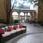 Lounge area within/outside hotel