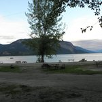 Scenic setting on the Shuswap
