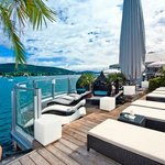 Seebad, exklusiv für Hotelgäste