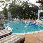 Relax in our beautiful pool