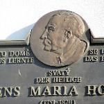 comorotive plaque for Clement Hofbauer