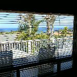 View from the Oceanview Suite bed