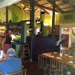 indoor or outdoor dining