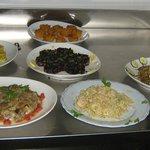 esempio di bio buffet a pranzo