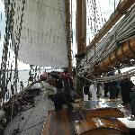 Deck of the Pride of Baltimore II