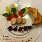 foie gras et betterave