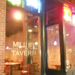 The Entrance at Mill Street Tavern, in night