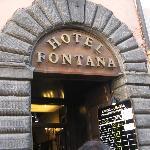 Hotel Fontana, Rome , Italy