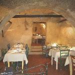 La salle dans les caves