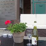 Apero on the terrace