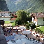terrasse hotel rita