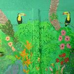 Le toucan ou l'emblème du lieu