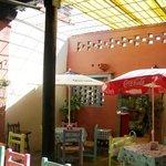 Paulina´s patio dining