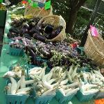 veggies at the portland farmer's market