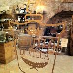 ein Blick in den wunderbaren Weinkeller