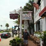 Front of the Casablanca Inn