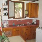 Kitchen, Mint Fawn Cabin, Sleepy Hollow, Crestline, CAL