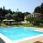 An oasis right in the middle of Tsilivi