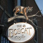 Bobcat Cafe & Brewery Main Sign