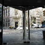 Saída pelo hotel