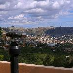 View of the valley of Guanajuato