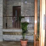 Hall and elevator