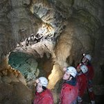 Cavers in the Grotto
