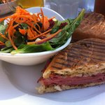 The Reuben Panini was excellent!