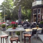 Hotel Bloemendaal patio