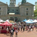 Pioneer Courthouse Square Market