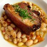 """Pork and Beans..La Regalade style"""