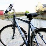 Hybrid town bike